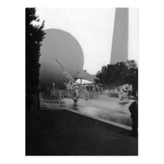 1939 World's Fair Tower New York Postcard