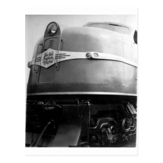 1939 World's Fair Train On Display New Haven Postcards