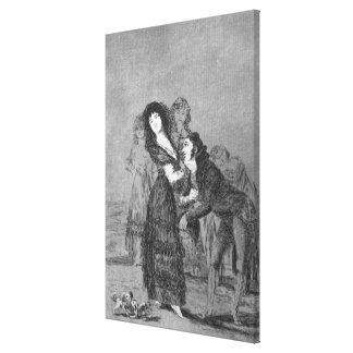193-0082127 Which of them is more overcome?, plate Canvas Print