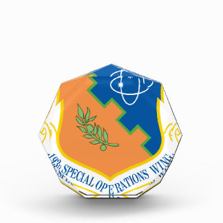 193d Special Operations Wing Acrylic Award