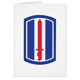 193o División de infantería Tarjeta De Felicitación
