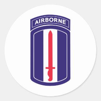 193rd ABN Moatengators Classic Round Sticker