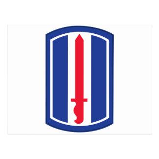 193rd Infantry Division Postcard