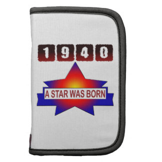 1940 A Star Was Born Planners