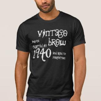 1940 Birthday Year 75th Vintage Brew Gift Shirt