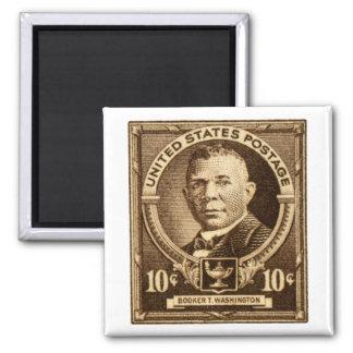 1940 Booker T. Washington Stamp Magnet