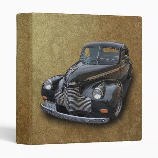 1940 CHEVROLET 3 RING BINDER