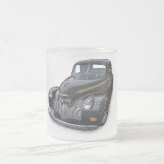 1940 CHEVROLET FROSTED GLASS COFFEE MUG