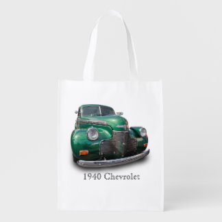 1940 CHEVROLET REUSABLE GROCERY BAG