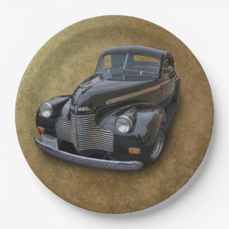 1940 CHEVROLET 9 INCH PAPER PLATE