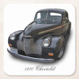 1940 CHEVROLET SQUARE PAPER COASTER