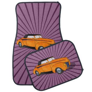 1940 Ford Standard Convertible - Orange Car Floor Mat