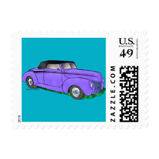 1940 Ford Standard Convertible– Purple Postage