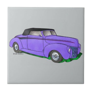 1940 Ford Standard Convertible Ceramic Tile