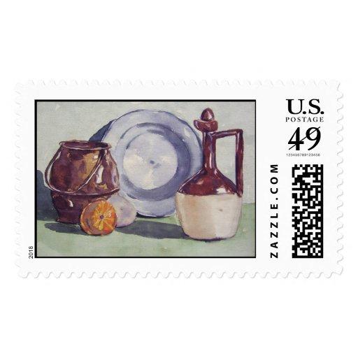 1940 Kitchen Object Portrait- stamps
