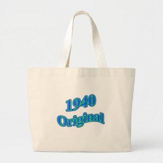1940 Original Blue Green Bag