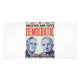 1940 Roosevelt - Truman Photo Card