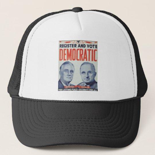 1940 Roosevelt - Truman Trucker Hat