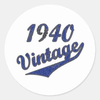 1940 Vintage Stickers