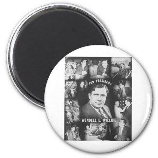 1940 Wendell Willkie 2 Inch Round Magnet