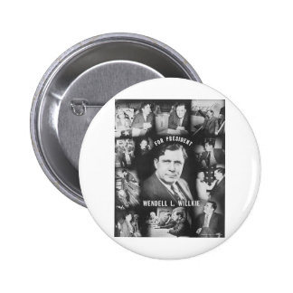 1940 Wendell Willkie Pin