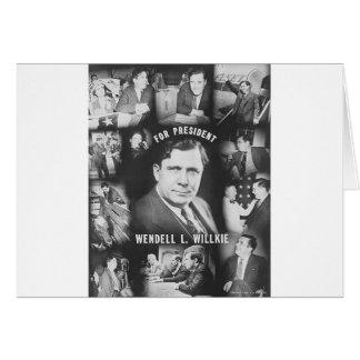 1940 Wendell Willkie Card