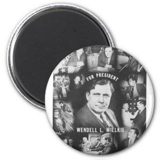 1940 Wendell Willkie Magnet