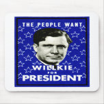 1940 WIllkie for President Mousepad