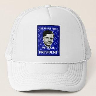 1940 WIllkie for President Trucker Hat