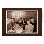 1940s Bar CousinsCount Greeting Card
