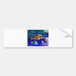 1940s Bathnight Bumper Sticker
