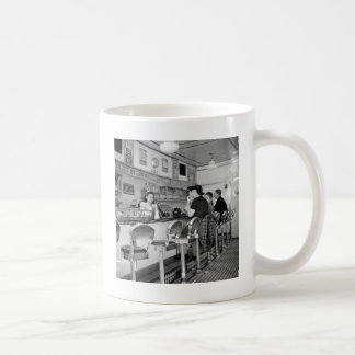 1940s Burger Joint Classic White Coffee Mug