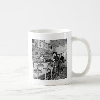 1940s Burger Joint Coffee Mug