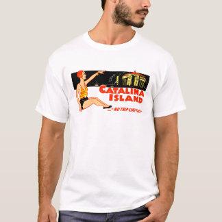 1940s Catalina Island Vintage Design T-Shirt