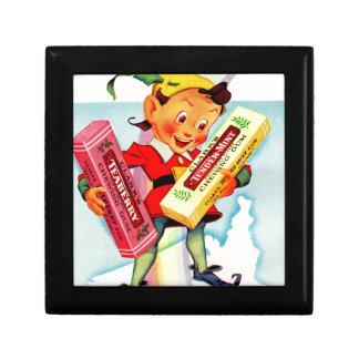 1940s Clark's chewing gum elf Gift Box