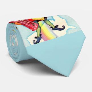 1940s Clark's chewing gum elf Neck Tie