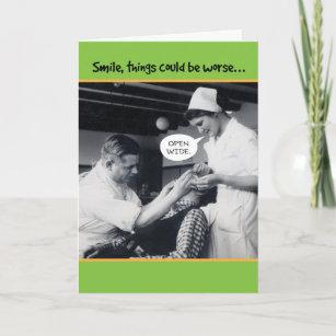 Funny Dentist Birthday Cards