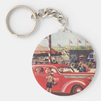 1940's Desoto Keychain