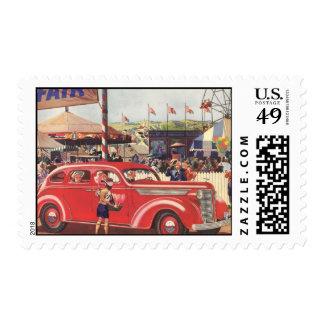 1940's Desoto Postage Stamp