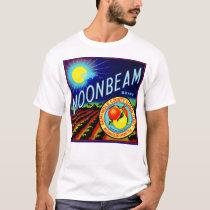 1940s fruit crate label Moonbeam brand citrus T-Shirt