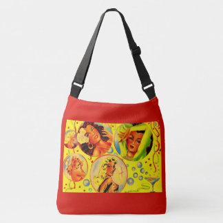 1940s glamour girls crossbody bag