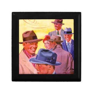 1940s men in hats gift box