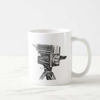1940's or 1950's Broadcast Studio TV Camera Coffee Mug