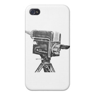 1940's or 1950's Broadcast Studio TV Camera Cover For iPhone 4