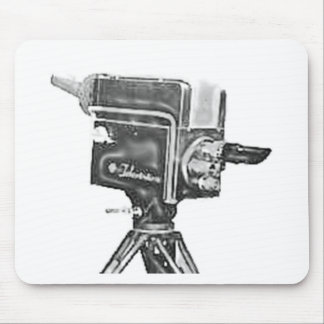 1940's or 1950's Broadcast Studio TV Camera Mouse Pad