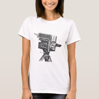 1940's or 1950's Broadcast Studio TV Camera T-Shirt