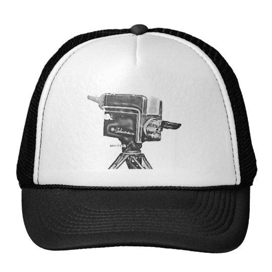 1940's or 1950's Broadcast Studio TV Camera Trucker Hat