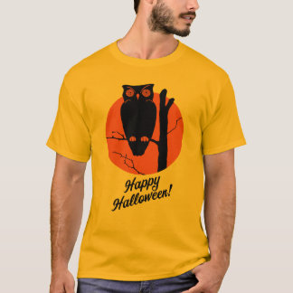 1940s Owl in Tree T-Shirt