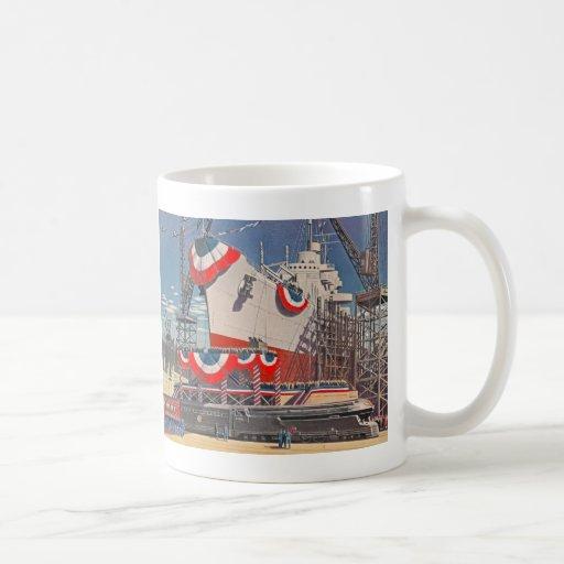 1940's Pennsylvania RR Mug