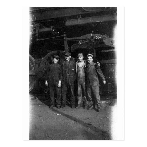 1940's Railroad Workers Postcards